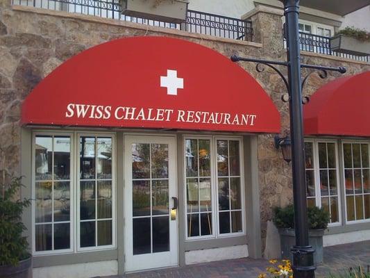 Swiss Chalet Restaurant Vail Co Yelp