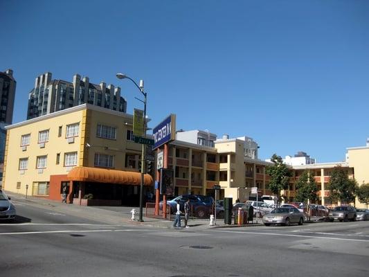 Civic center inn hotel san francisco ca vereinigte for Civic motor inn san francisco