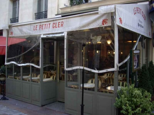 Le petit cler french tour eiffel champ de mars paris france reviews - Tour maubourg restaurant ...