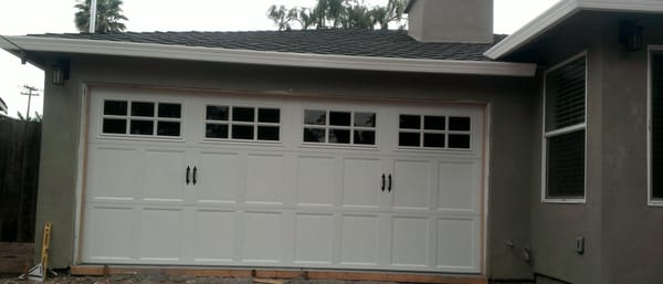 Nwd Therma Classic Carriage House Style Door With Grey