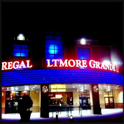 Click on the video below to watch The Hunger Games Premiere Party at the Regal Biltmore Grande Stadium For the convenience, comfort and safety of all, masks and props are not allowed in Biltmore Park Town Square and Regal Theatre.