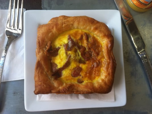 Bacon Egg and Cheese Souffle | Yelp