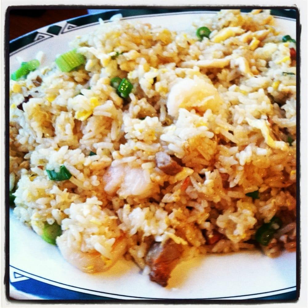 House Special Fried Rice w/ Shrimp, Pork and NO cilantro. | Yelp