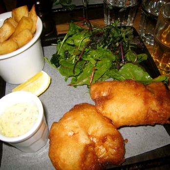 Fish and Chips at Tom's Kitchen