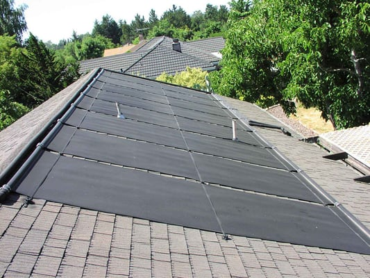 Fafco Solar Swimming Pool Heating Panels Installed By