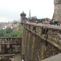 A view from the cannon walls.