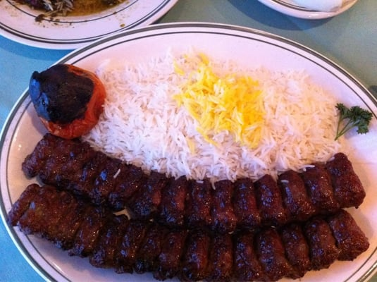 Ground beef kabob (Koobideh) | Yelp