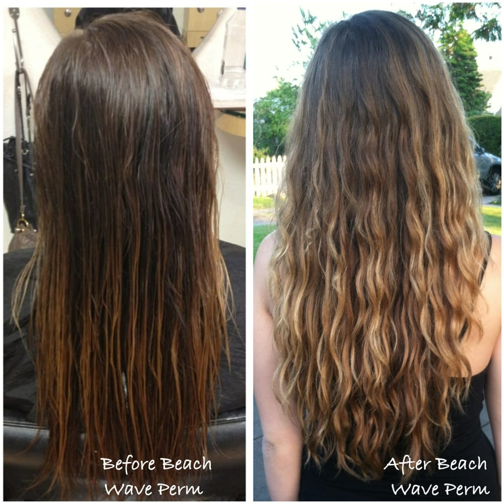 beach-wave-hair-perm Images - Frompo - 1