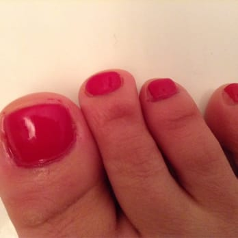 pedicure ever - I had to leave mid-manicure and did not get the color