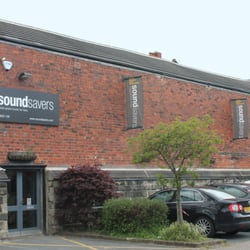Soundsavers, shop front, Leeds