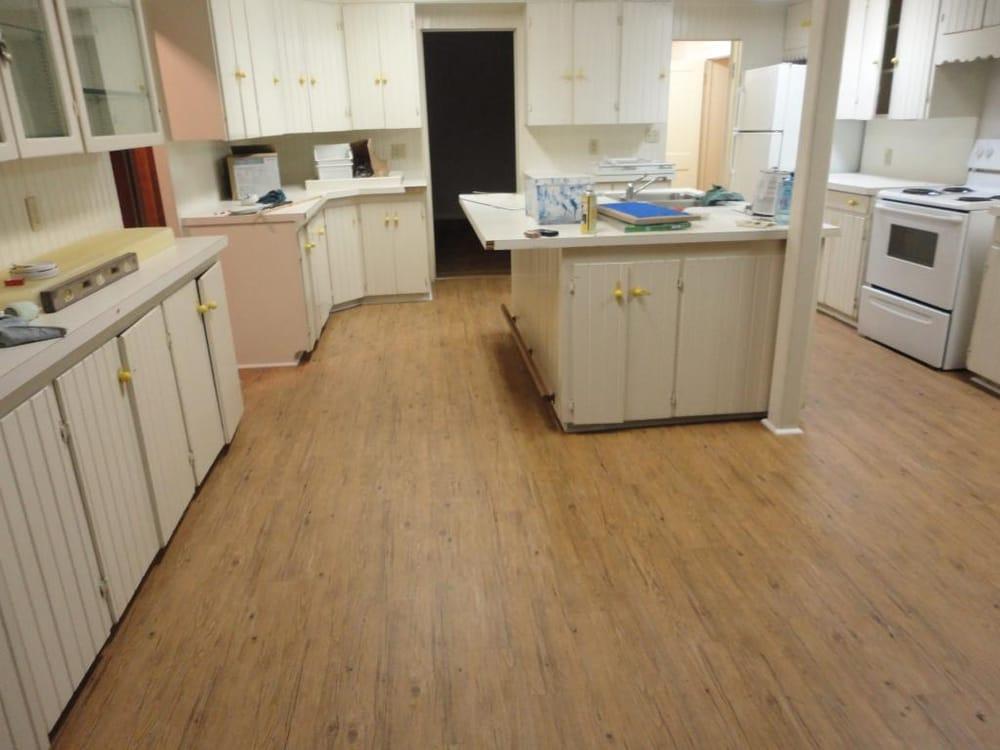 No Glue Flooring : Allure quot floating no glue vinyl plank from home depot