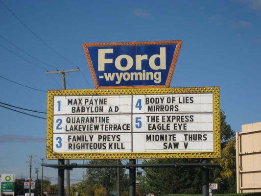 ford wyoming drive in 15 photos cinema dearborn mi reviews. Cars Review. Best American Auto & Cars Review