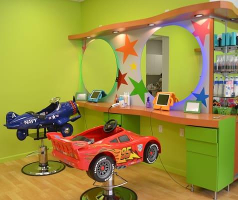 Photos for little stars hair salon 4 kids yelp for 4 dollz only salon