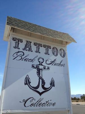 Black anchor collective tattoo hesperia ca yelp for Black anchor collective tattoo