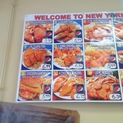 New york fried chicken fish edgewood md stati uniti for Alaska fish and chicken menu