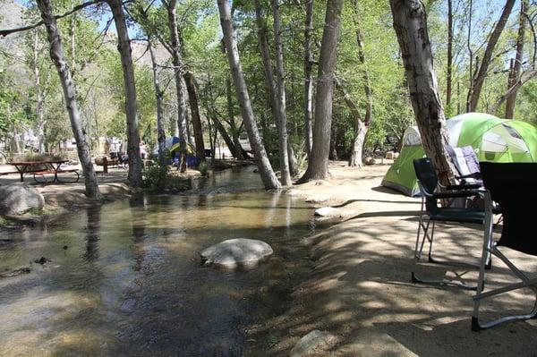 camp james campground campingplatz kernville ca. Black Bedroom Furniture Sets. Home Design Ideas