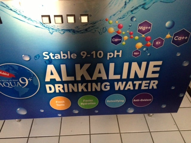 how to make drinking water more alkaline