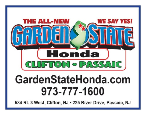 Garden state honda clifton car dealers clifton nj yelp for Honda passaic nj