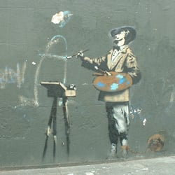 Banksy Graffiti Artist, London