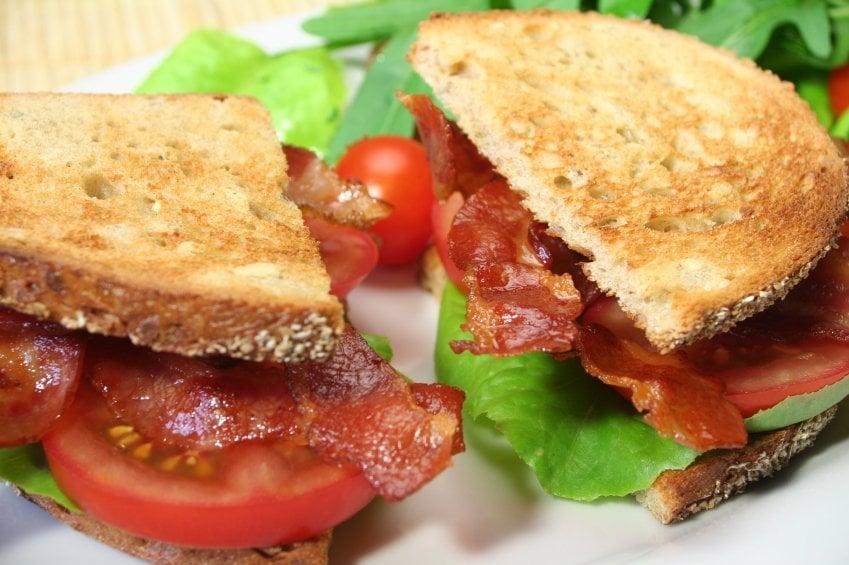 California BLT Sandwich - Bacon, Lettuce, Tomato, Avocado ...