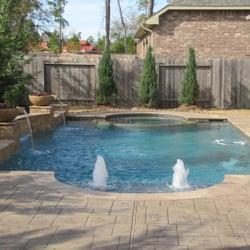 Aqua Blue Custom Pools Contractors Houston Tx Yelp