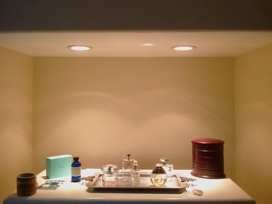 Bathroom Lights Recessed bathroom recessed lighting searchlight 5150cc ip55 shower proof
