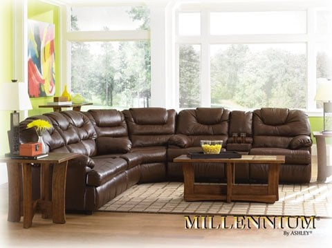 Beautiful leather sectionals, sofas, love seats, chairs, recliners ...