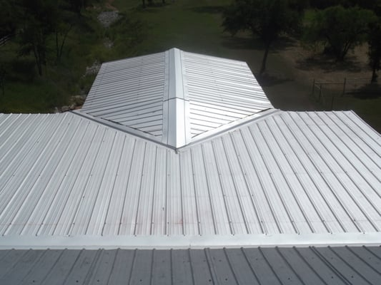Spicewood texas galvalume roof over patio yelp for Welborn garage doors austin