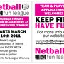 Netball Fun League - Bentham