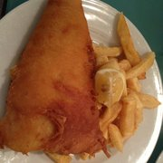 Cod & Chips - massive Chunk of Cod!