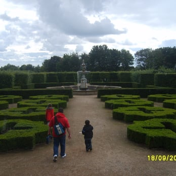 The Gardens next to Temple Newsam House