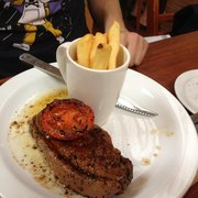 Steak and pommes frites!