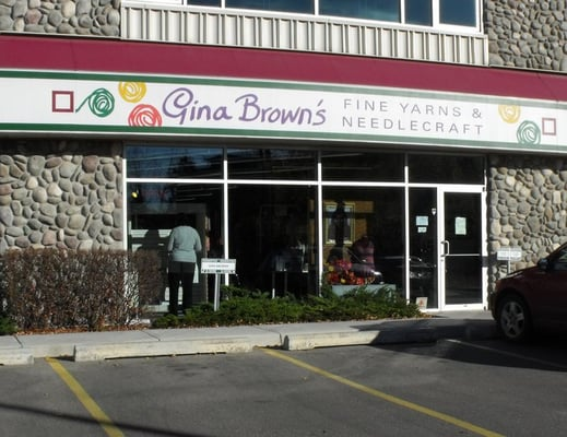 Knitting Stores Calgary : Gina brown s calgary oldest and largest knitting