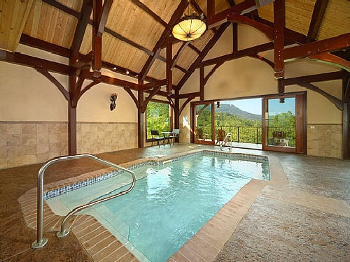 Cabin fever vacations pigeon forge tn yelp for Cabin indoor pool