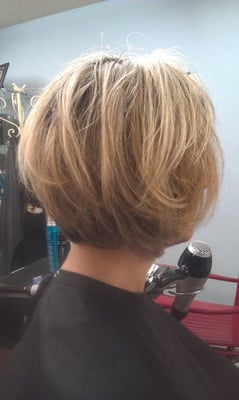 Tapered Bob, with layers. 2012' | Yelp