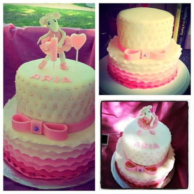 Angelina ballerina cake yelp for Angelina ballerina edible cake topper decoration sale