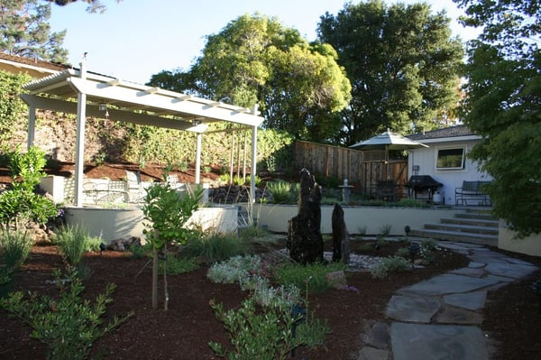 Sustainable landscape design landscaping willow glen for Landscape design san jose