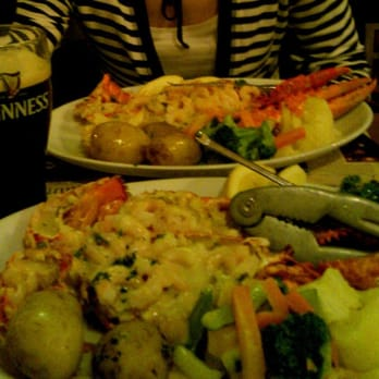 Lobster, tools and Guinness