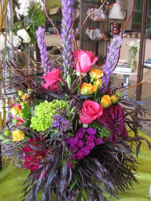 tall dramatic centerpieces for wedding