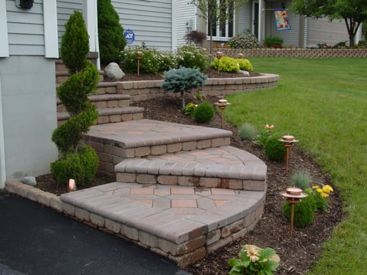front steps landscape design yelp