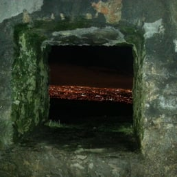 View from inside the Hellfire club