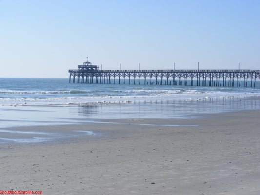 Cherry grove beach beaches north myrtle beach sc yelp for North myrtle beach fishing pier