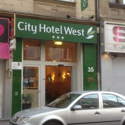 City Hotel West, Frankfurt, Hessen, Germany