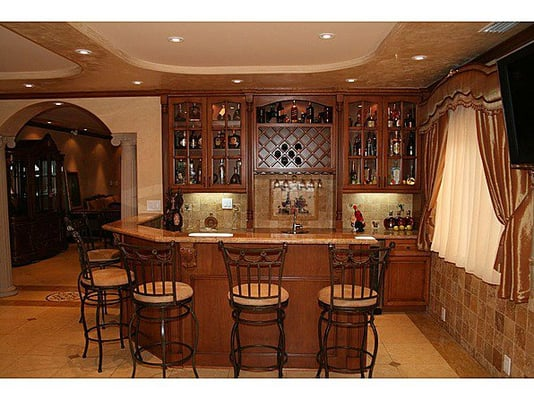Kitchen Area With Low Voltage 12v Lighting Undercabinet