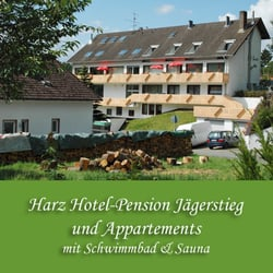 Harz Hotel Pension Jägerstieg und Appartements in Bad Grund