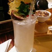 Another custom drink at the Dorchester's Promenade Bar