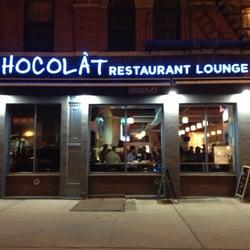 Chocolat restaurant lounge 180 photos american new for Harlem food bar yelp