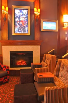 The Fireplace In The Movie Parlor Theater 12 Yelp