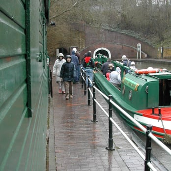 take a trip on the canal boats and visit the uinderground mines
