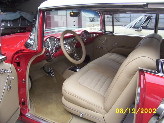55 Chevy Interior